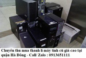 Tại sao cần thanh lý máy tính cũ tại quận Hà Đông